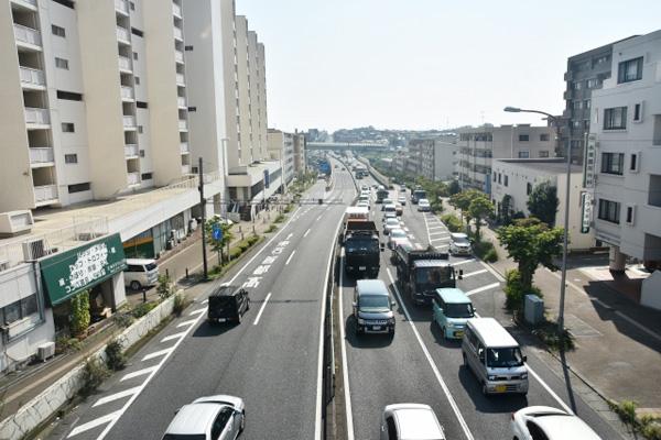 横浜市青葉区の風景