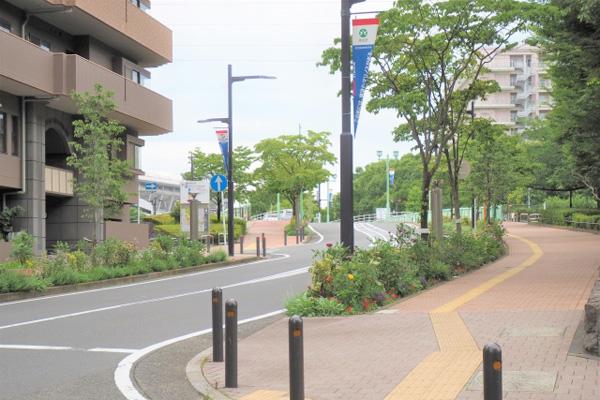 横浜市港北区の風景
